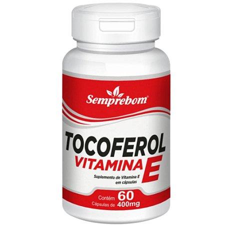 Vitamina E (Tocoferol) 60 cápsulas - Semprebom