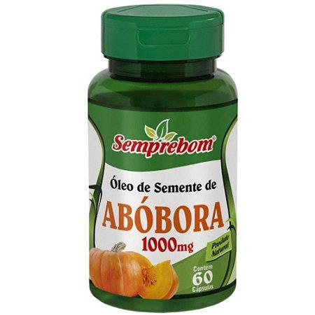 Óleo de Semente de Abóbora 60 cápsulas - Semprebom