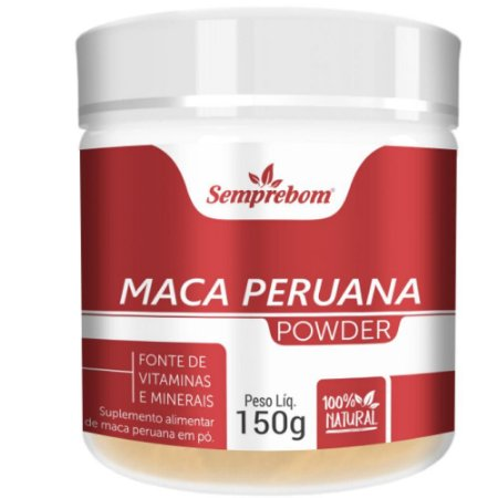 Maca peruana em pó 150 gramas - Semprebom