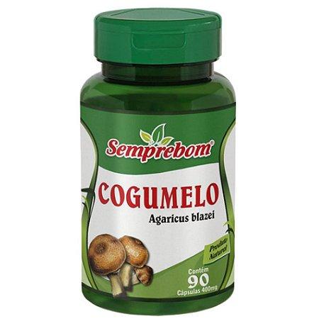 Cogumelo Do Sol 400mg 90 cápsulas - Semprebom