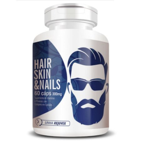 Hair Skin & Nails Homem 60 Cápsulas - Flora Nativa