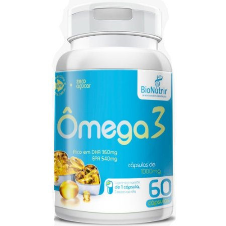 Ômega 3 60 Cápsulas - Bionutrir