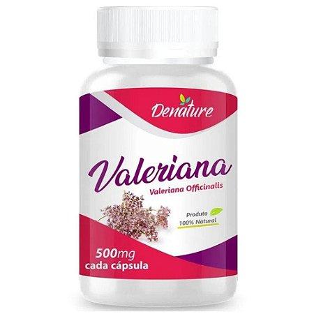 Valeriana 500mg 100 cápsulas - Denature