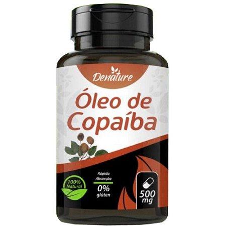 Óleo de Copaíba 500mg 60 cápsulas - Denature