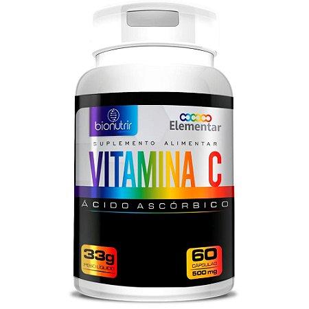 Vitamina C 450mg 60 cápsulas - Bionutrir