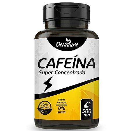 Cafeína Super Concentrada 100 cápsulas - Denature