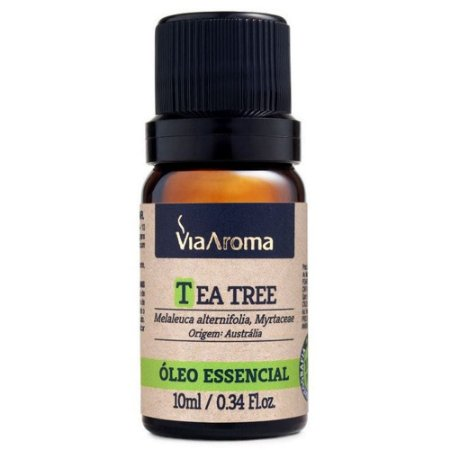 Óleo Essencial de Tea Tree (Melaleuca) 10ml - Via Aroma