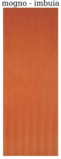 Folha de Porta madeira - Lisa