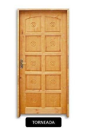 Folha de Porta de Madeira