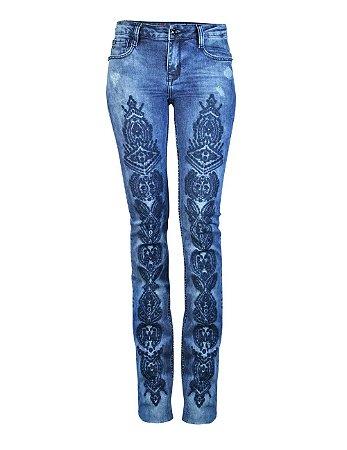 Calça Jeans Boot Cut Hellen