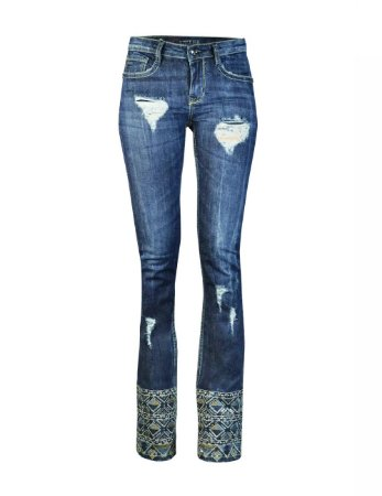 Calça Jeans Boot Cut Imponente