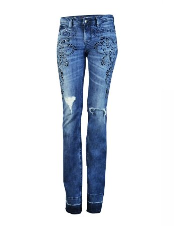 Calça Jeans Boot Cut Love