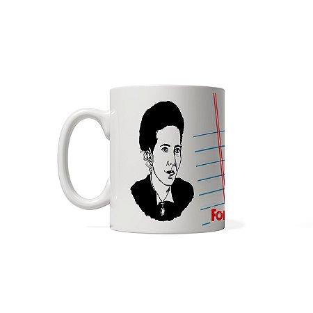 Caneca - Simone de Beauvoir