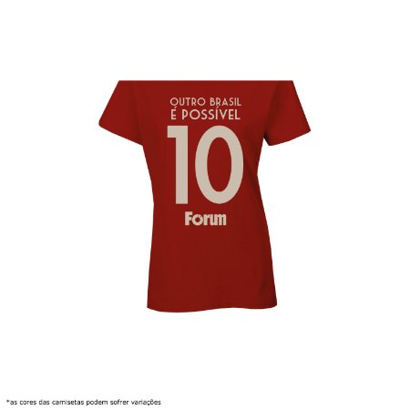 [PRÉ-VENDA] Camiseta - Fórum na Copa da Rússia [Número 10]