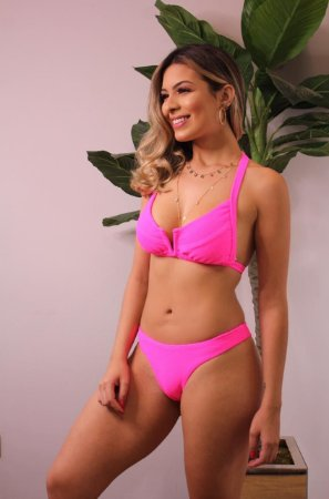 Biquinis New TQC Rosa Pink La Passione 2021 Lançamento