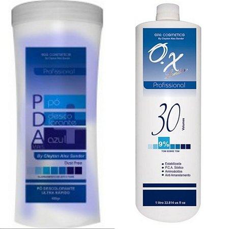 PDA pó Descolorante + ox 30 volumes SPA COSMETICS