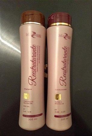 kit MAIRIBEL Shampoo e Condicionador REESTRUTURANTE