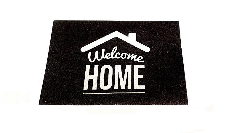 Tapete Capacho Decorativo Para Entrada 40x60 Welcome Home