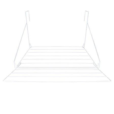 Varal Portátil em Aço Slim 69,5x52,5x28cm 6047 Mor