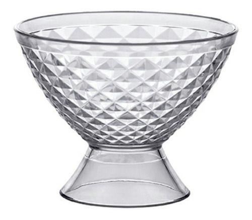 Taça Em Acrílico Para Sobremesa 400ML Luxxor 1150 Paramount