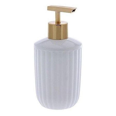 Porta Sabonete Liquido Branco Canelatta Banheiro 1526 Paramount