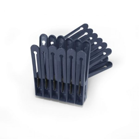 Prendedor de Roupa Plástico Conjunto 12 Unidades Resistente
