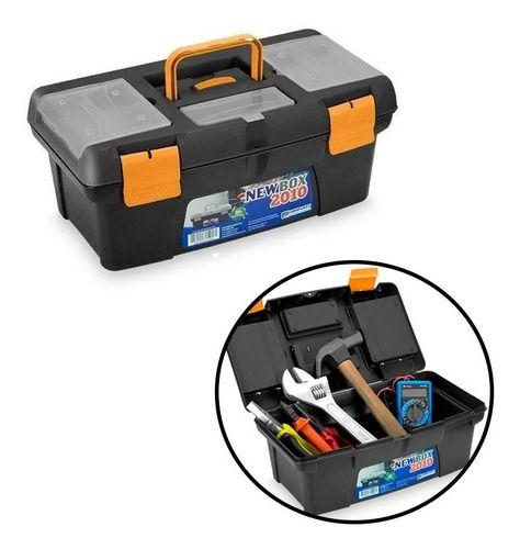 Caixa Maleta de Ferramentas Grande New Box 25369 Arqplast