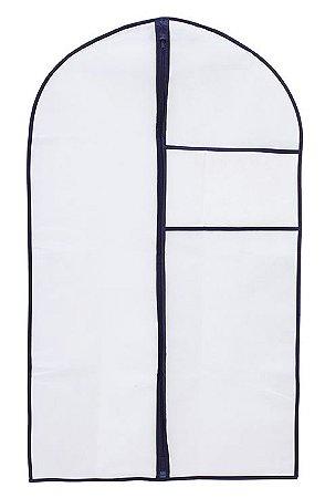 Capa Protetora Para Terno Casaco Com Zíper 60x100Cm 1283 Paramount