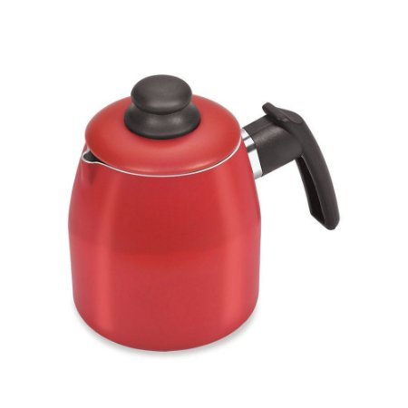 Bule 1 Litro Antiaderente Vermelho - Dona Chefa
