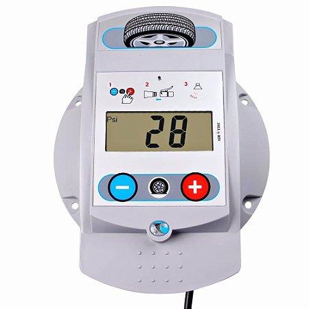 Calibrador Pneus Digital De Parede 145 Psi/lbs Excel Garagem