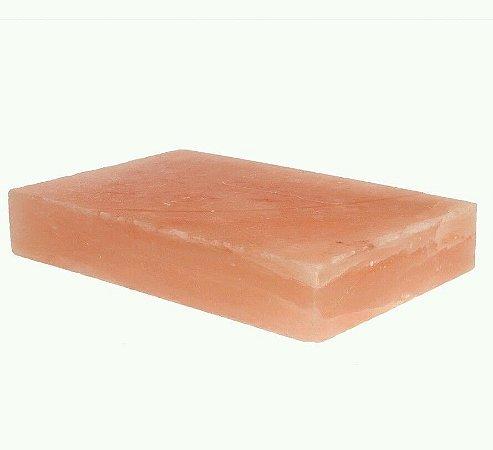 Chapa de Pedra de Sal Rosa do Himalaia 30x20x5 cm