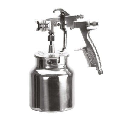 Pistola De Pintura Baixa Produção Sucção 825ml Ms25 Steula