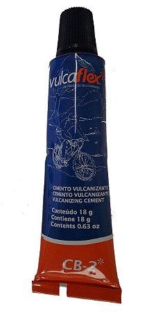 Cola Vulcanizante Para Reparo A Frio De Câmara De Ar - 18g