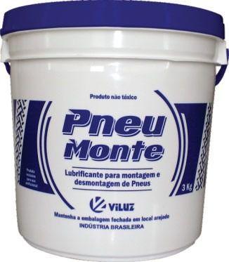 Pasta / Gel Para Montagem De Pneus - Balde 3kg - Pneumonte