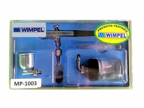 Aérografo MP 1003 2 Canecas Articulada Bico 0,35 MM - Wimpel