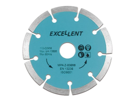 Disco Diamantado Segmentado 110MM 5LN EDA