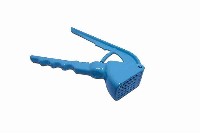 Espremedor Alho Colors Azul P/ Cozinha - Alumínio Injetado