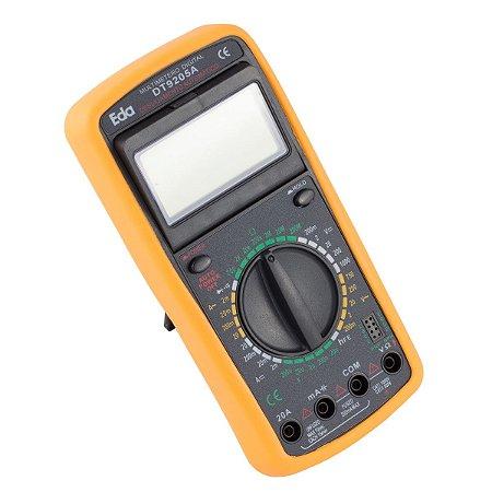Multímetro Digital com Capacímetro e Beep 9KF EDA