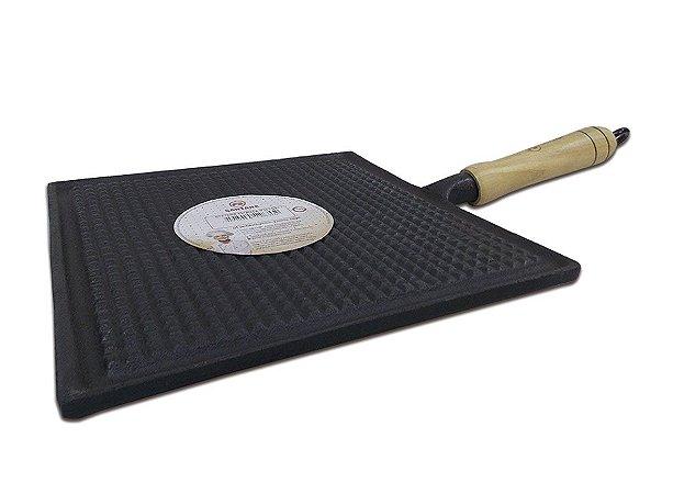 Bifeteira Estriada Ferro Fundido 24cm FS61.1 - Santana