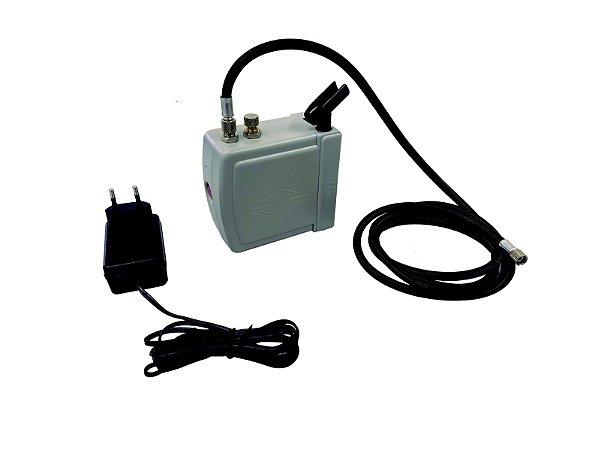 Mini Compressor Aerografia Bivolt OT