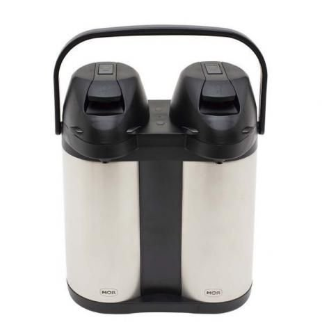Garrafa Térmica Inox Airpot 3,8 Litros Dupla Mor