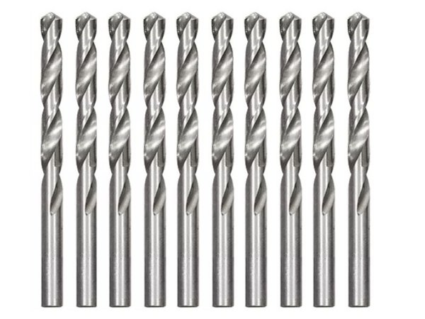 Kit 10 Brocas Polida P/ Metal Hss 8,5 Mm 715859 Mtx