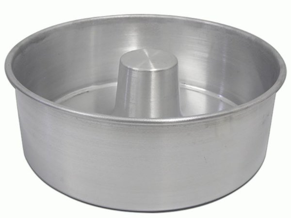 Forma de Bolo Reta Redonda nº 28 em Alumínio AAL