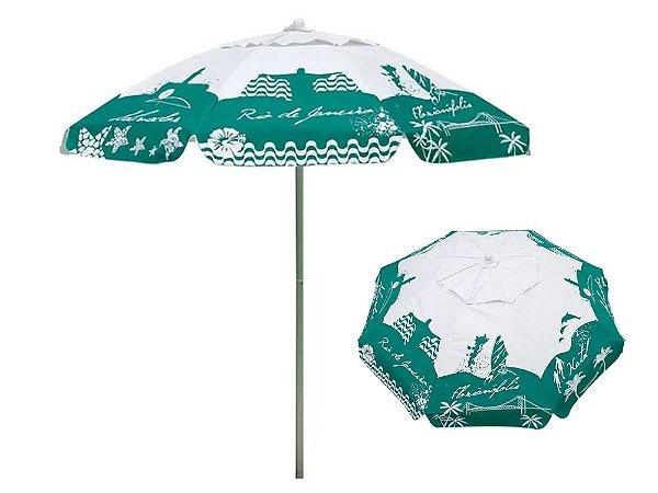 Guarda-Sol Bagum 1,80mts Listras Fashion Verde Mor