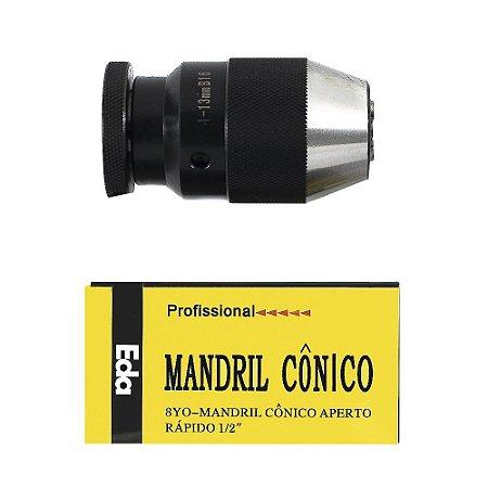 Mandril Aperto Rapido 1/2 13mm - B16 8YO Eda