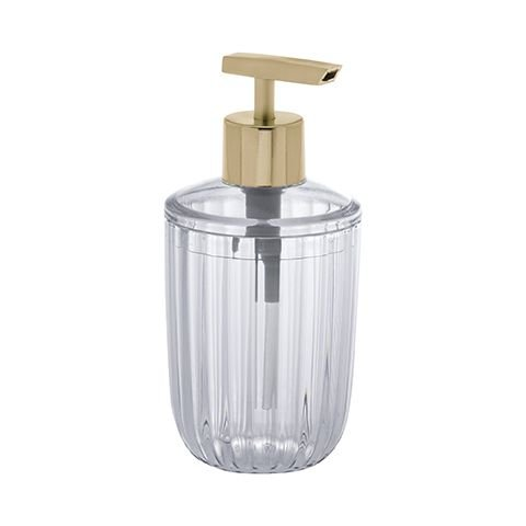 Porta Sabonete Liquido Cristal Canelatta Paramount Ref 1604