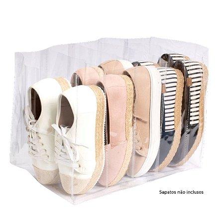 Organizador P/ Sapatos / Tênis Transparente 5 Pares 840 VB Home