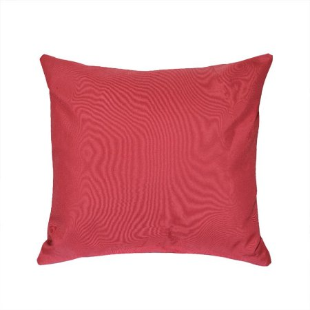 Almofada Decorativa P/ Sofá Lisa Vermelho