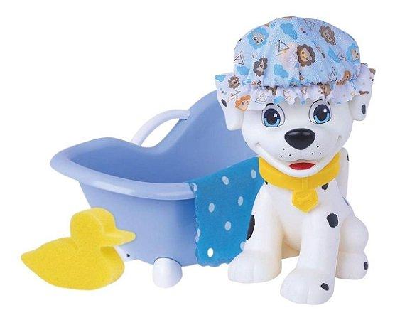 Brinquedo Esquadrão Pet Cachorro Macho Banho Super Toys