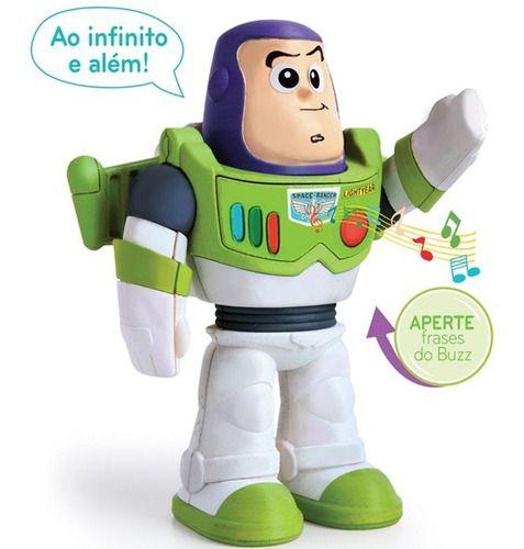 Brinquedo Infantil Boneco Meu Amigo Buzz Lightyear Elka